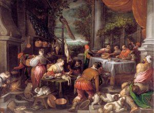 Leaandro Bassano-Lázaro y el rico Epulón